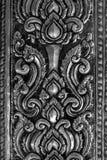 Востоковедная серебряная картина Стоковое Фото