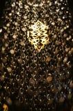 Востоковедный бронзовый светильник Стоковое Изображение RF