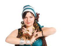 Востоковедный танцор Стоковое Фото