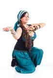 Востоковедный танцор Стоковая Фотография