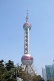 востоковедная башня shanghai перлы Стоковое Изображение