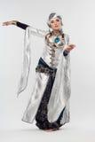 востоковедная женщина Стоковые Фотографии RF