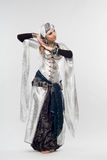 востоковедная женщина Стоковая Фотография