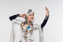 востоковедная женщина Стоковые Фото