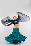 востоковедная женщина Стоковое Изображение