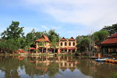 Востоковедное село в Langkawi Стоковые Изображения RF