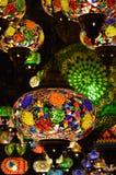 Востоковедные лампы, рынок замка Camden Стоковая Фотография
