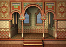 востоковедный дворец Стоковое Изображение