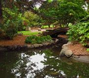 Востоковедный сад Стоковое Изображение RF