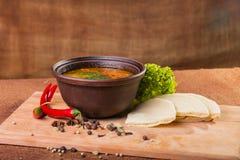 Востоковедный суп Стоковые Фотографии RF