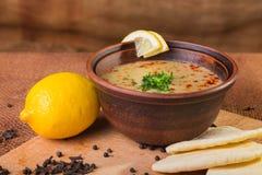 Востоковедный суп Стоковое Фото