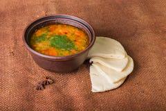 Востоковедный суп Стоковое Изображение RF
