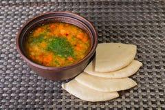 Востоковедный суп Стоковая Фотография