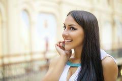востоковедный тип Чувственная арабская модель женщины Стоковое Фото