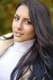 востоковедный тип Чувственная арабская модель женщины Стоковые Изображения