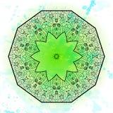 Востоковедный традиционный мотив орнамента бесплатная иллюстрация