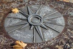 Восток звезды мистический северный южный западный Стоковое Изображение