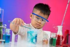 Восторженный химик Стоковые Изображения RF