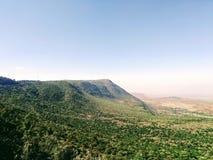 Восточная африканская Восточно-африканская зона разломов стоковая фотография rf