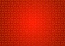 Восточная винтажная орнаментальная красная предпосылка картины Стоковое Изображение RF
