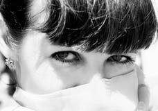 восточная женщина визирования Стоковое Фото