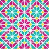 восточная картина безшовная Азиатская геометрическая предпосылка Покрашенный исламский фон Дизайн арабского шаблона орнаментальны бесплатная иллюстрация