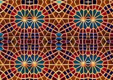 Восточная мозаика Картины и орнаменты Другие характеристики, другие линии стоковые изображения rf