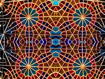 Восточная мозаика Картины и орнаменты Другие характеристики, другие линии стоковое фото