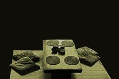 Восточная таблица ресторана Стоковые Изображения RF