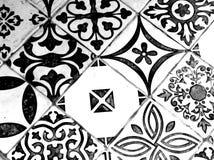 Восточная черно-белая картина стоковое изображение