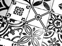 Восточная черно-белая картина стоковые фотографии rf