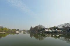 Восточное озеро весной Стоковое Изображение RF