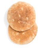 Восточное пита хлеба, над взглядом Стоковая Фотография RF