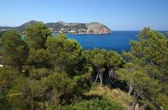 Восточное побережье Мальорки Стоковая Фотография RF
