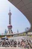 Восточное радио жемчуга и башня ТВ Стоковые Изображения RF