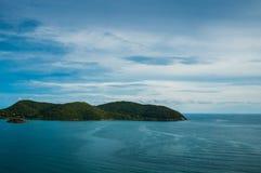 Восточное scape моря Таиланда Стоковые Изображения