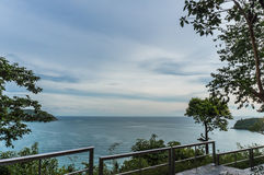 Восточное scape моря Таиланда Стоковое Фото