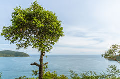 Восточное scape моря Таиланда Стоковая Фотография