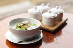 Восточной рис завтрака кипеть нежностью Стоковые Изображения