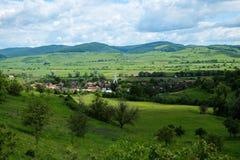 Восточно-европейские деревни - область Трансильвании Стоковая Фотография RF