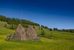 восточно - европейский пейзаж горы Стоковая Фотография