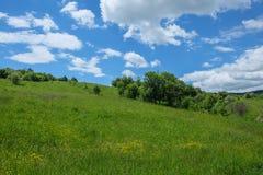 Восточно-европейский пейзаж - область Трансильвании Стоковые Изображения