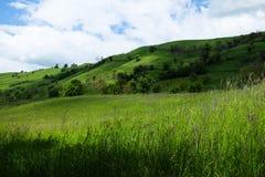 Восточно-европейский пейзаж - область Трансильвании Стоковое фото RF