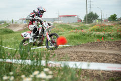 Восточно-европейский чемпионат 2013 Supermoto Стоковое Изображение RF