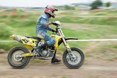 Восточно-европейский чемпионат 2013 Supermoto Стоковое фото RF