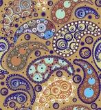 Восточные орнаменты огурцов бесплатная иллюстрация