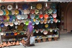 Восточные рынки в старом городке стоковые изображения rf