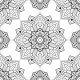 Восточный абстрактный орнамент иллюстрация вектора