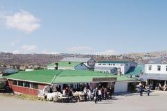 Восточный базар на плато AI-Petri, Крыма Стоковое фото RF