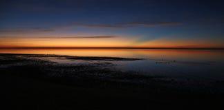 Восточный восход солнца накидки Стоковые Изображения RF